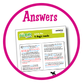 A dogs needs - Answers
