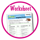 Hedgehog friends - Worksheets